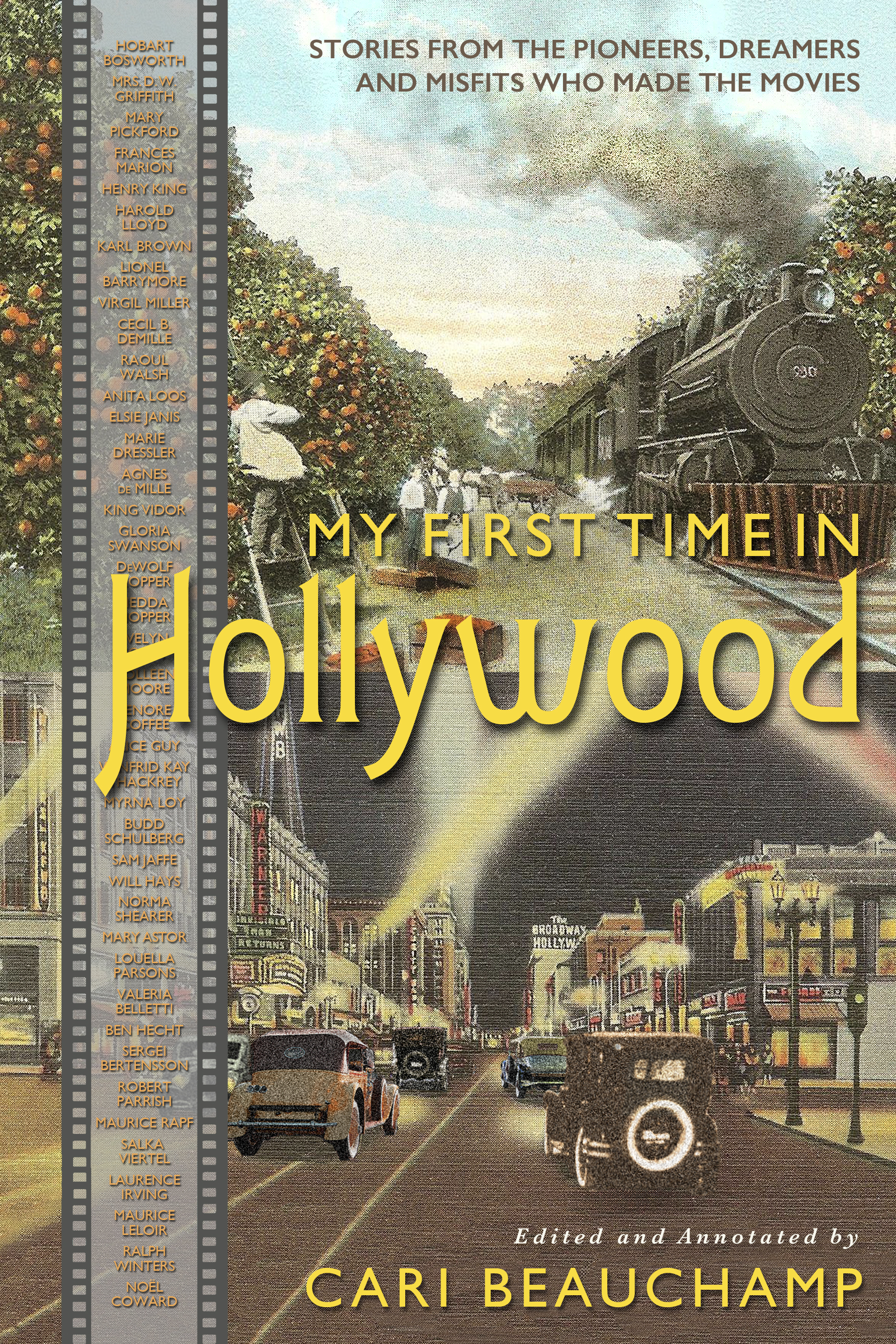 First Time in Hollywood book cover